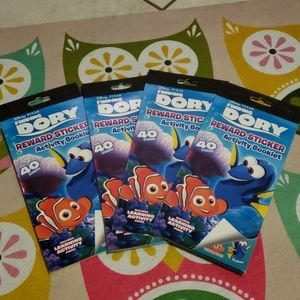Finding dory activities book with stickers